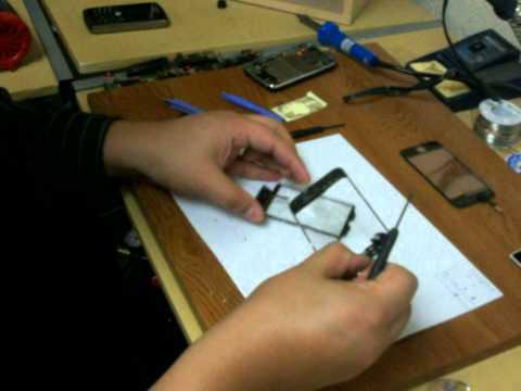 iPhone 3GS Glass Repair Tutorial