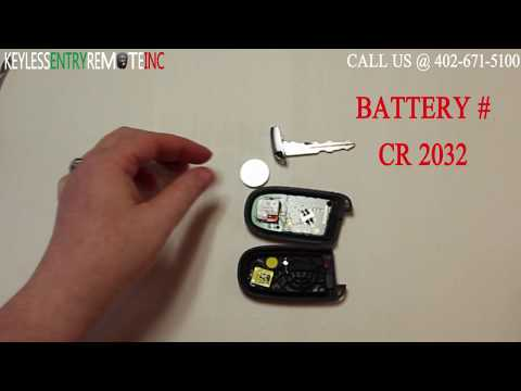 How To Replace Chrysler 300 Key Fob Battery 2011 2012 2013 2014 2015