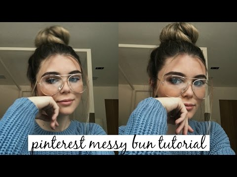 MY MESSY BUN HAIR TUTORIAL: QUICK & EASY l Olivia Jade