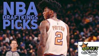 3/17/18 NBA DRAFTKINGS PICKS