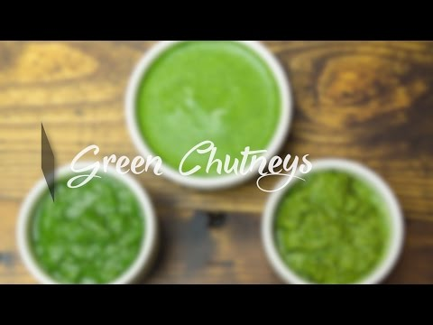 3 Ways to Make Green Chutney / How to Prepare Coriander Dip | Dhaniya Chatni Recipes