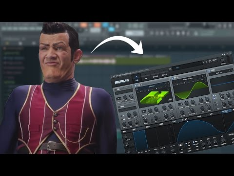 We Are Number One but it's a dubstep bass