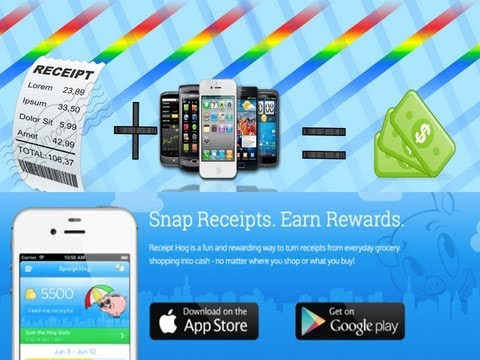 (IOS/Android) Get Money for your Receipts - Receipt hog