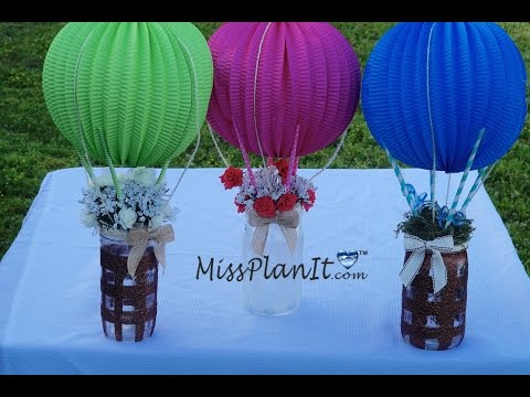 Mason Jar Baby Shower Centerpiece / DIY / How To Create This Centerpiece for Under $20!
