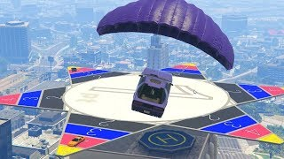 LAND ON THE STAR! - GTA 5 Funny Moments #721