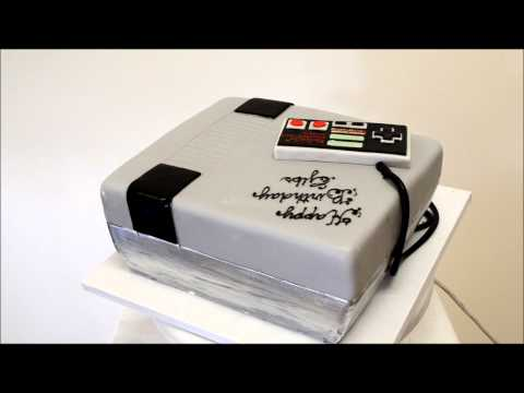 Nintendo Cake - Game Console Cake