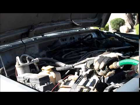 jeep cherokee cooling system flush