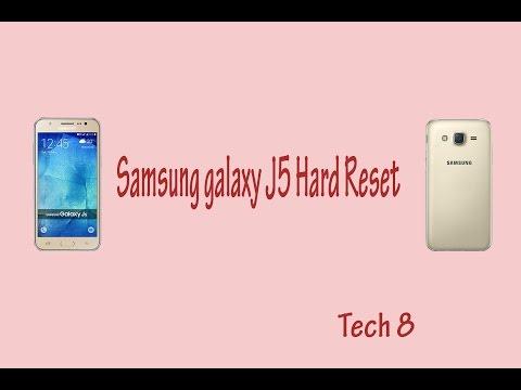 Samsung Galaxy J5 Hard Reset