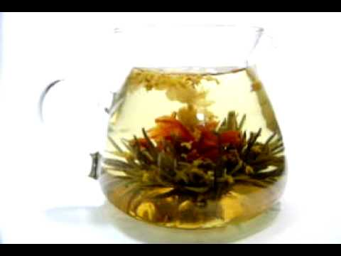 Osmanthus in Autmun Breeze - blooming Tea