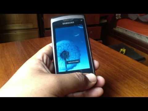 Samsung wave S8500 dual boot Android 4.0.4 y bada 2.0