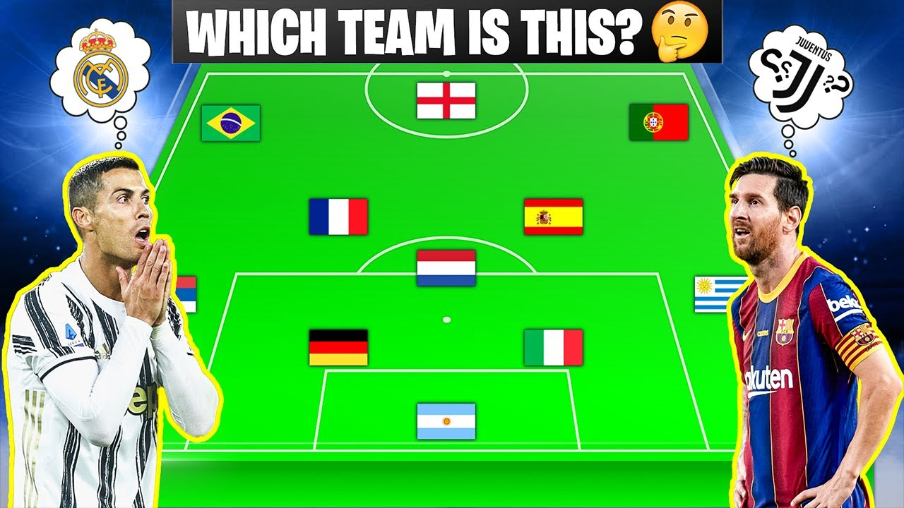 Which Team is this? ⚽ Football Quiz (2021 Edition)