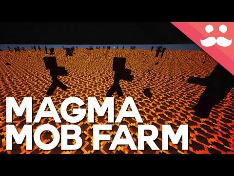INSANE Magma Block Mob Farm in Minecraft Snapshot 16w20a