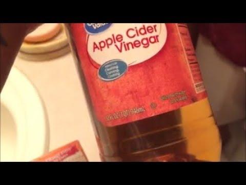 ACV RINSE! (apple cider vinegar rinse) #2