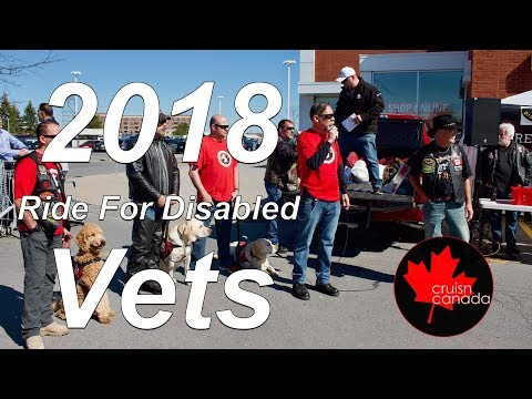 2018 Ride For Disabled Vets - Stittsville Ontario