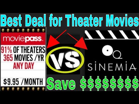 Best deal in America for Movie Tickets| Sinemia vs Movie Pass Review| Who has a better deal?