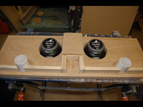 How to build a solid wood MTM speaker
