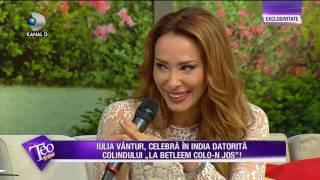 Teo Show (18.05.2017) - Iulia Vantur, INSARCINATA? Ce declaratii a facut