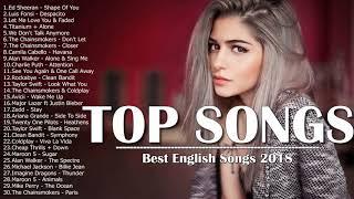 اغاني انجليزية - افضل اغنية اجنبية 2018 (Best English Songs Playlist) اغاني اجنبية مشهور2018