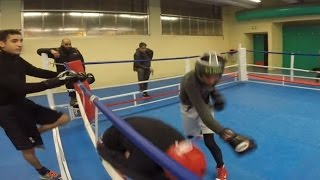 Sparing Boxe Anglaise - Urban Boxing