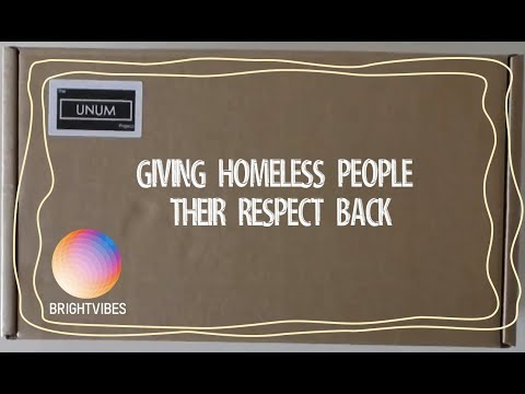 The Unum project helps people living on the streets.