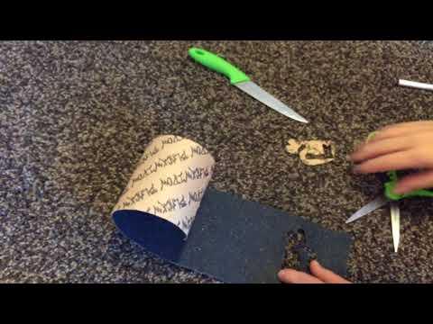 HOW TO: MAKE CUSTOM DESIGN GRIP TAPE