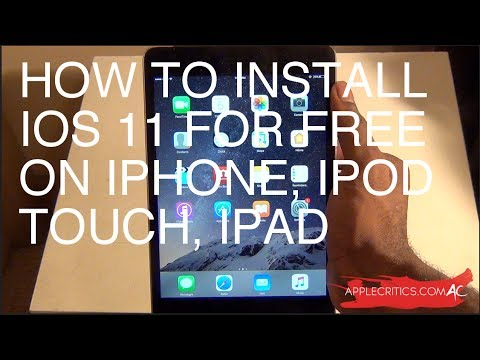 How To Install iOS 11 Beta For Free No Computer On iPhone, iPod Touch, iPad