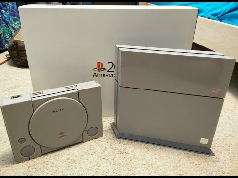 PlayStation 4 20th Anniversary Edition Unboxing