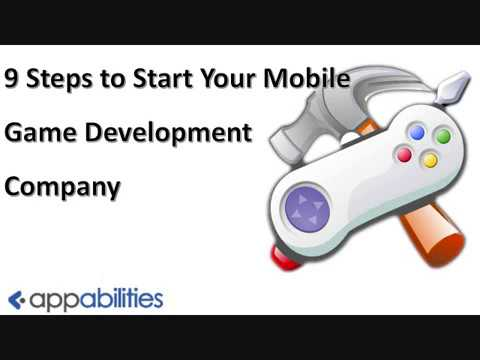 Steps to Start Your Mobile Game Development Company