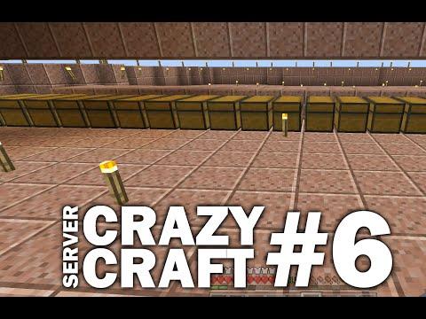 Minecraft PS4 - SORTA SORTER - #6 CRAZY CRAFT - LET'S PLAY ( PS3 / XBOX )