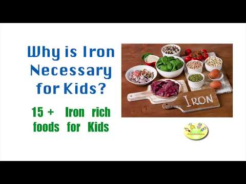 15+ Iron rich foods for kids to improve heamoglobin levels: Importance of iron in children's diet