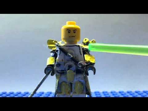 Lego star wars custom clone heavy gunner