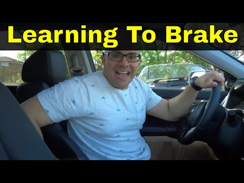 Learning To Brake While Driving-Tutorial For Beginners