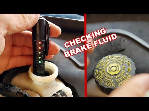 How to check the Quality of the Brake Fluid / When do I need to change the Brake Fluid?