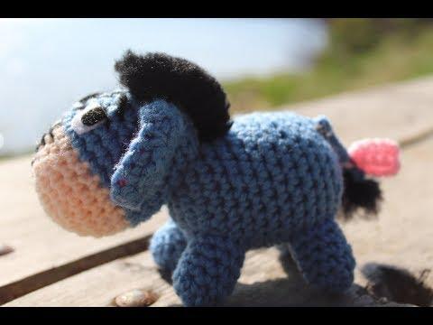 Amigurumi Crochet Eeyore Tutorial