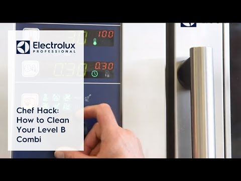 Chef Hack: How To Clean Your Level B Combi
