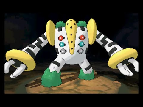 Pokemon Omega Ruby/Alpha Sapphire - Catching Regigigas