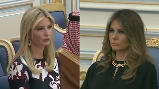 Melania, Ivanka Trump forgo headscarves