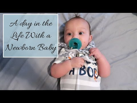 24 HOUR DAY IN THE LIFE WITH A NEWBORN | SLEEP REGRESSION | SOLO MOM