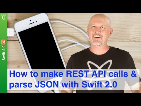 How to make REST API calls & parse JSON with Swift 2.0
