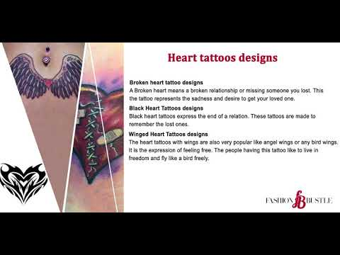 Amazing heart tattoos designs and ideas for men and women in 2017