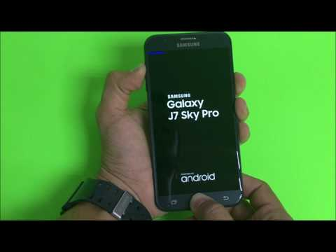 How To Reset Samsung Galaxy J7 Sky Pro - Hard Reset and Soft Reset