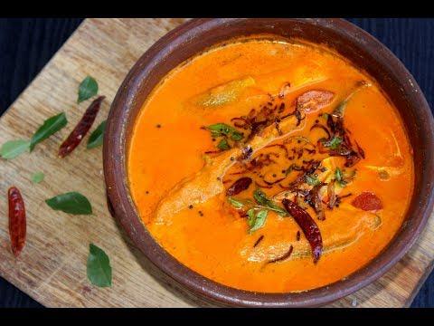 തേങ്ങാ അരച്ച മീൻ കറി ||Trivandrum Style Meen Curry||Anu's Kitchen