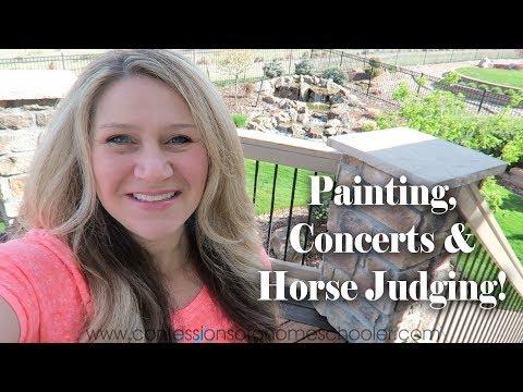 COAH Vlog: Concerts, Painting & Horse Judging!