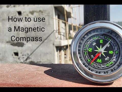 How to use a magnetic compass.