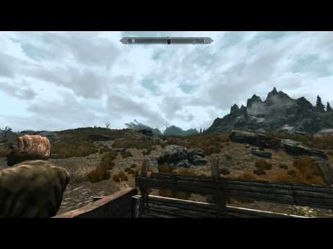 Carriage ride to Dawnstar, test video