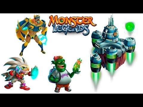 Hedgy Captain Legends Toy Master Videogames Maze Island Monster Legends