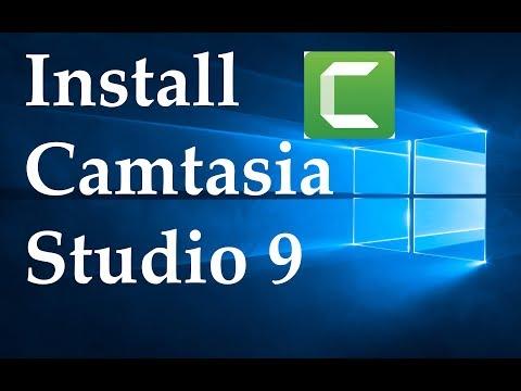 Install Camtasia Studio 9 In Windows 10