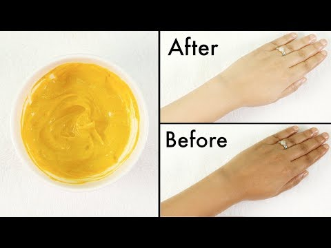 How To Remove Tan From Face,Neck,Hands,Knees Overnight| Simple home remedie