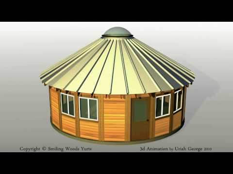 Smiling Woods Yurts - Assembly Video Demonstration