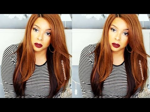 Outre Synthetic Lace Front Swiss Lace Wig ROSEMARY | GirlRatesWorld